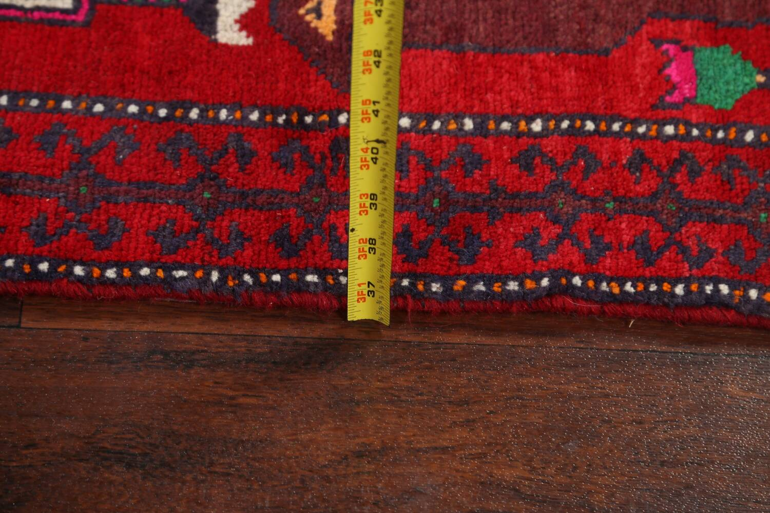 Animal Pictorial Balouch Persian Area Rug 4x8 image 17
