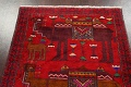 Animal Pictorial Balouch Persian Area Rug 4x8 image 10