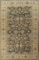 Pre-1900 Antique Vegetable Dye Sultanabad Persian Rug 12x16 image 1