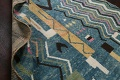 Wool Moroccan Abstract Area Rug 8x11 image 18