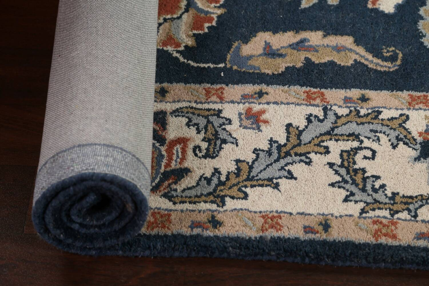 Floral Agra Wool Area Rug 5x8 image 11