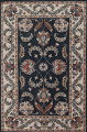Floral Agra Wool Area Rug 5x8 image 1