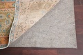 Antique Distressed Over-Dye Kashan Persian Area Rug 9x12 image 8