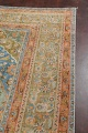 Antique Distressed Over-Dye Kashan Persian Area Rug 9x12 image 14