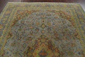 Distressed Over-Dye Kashan Persian Area Rug 9x12 image 13