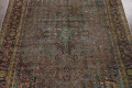 Distressed Over-Dye Kashan Persian Area Rug 10x13 image 4