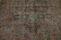 Distressed Over-Dye Kashan Persian Area Rug 10x13 image 5