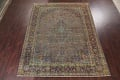 Distressed Over-Dye Kashan Persian Area Rug 10x13 image 16
