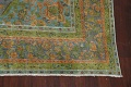Antique Distressed Over-Dye Tabriz Persian Area Rug 9x12 image 7