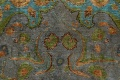 Antique Distressed Over-Dye Tabriz Persian Area Rug 9x12 image 11