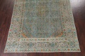 Antique Distressed Over-Dye Kashan Persian Area Rug 9x12 image 6