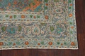 Antique Distressed Over-Dye Kashan Persian Area Rug 9x12 image 7