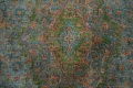 Antique Distressed Over-Dye Kashan Persian Area Rug 9x12 image 10
