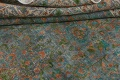Antique Distressed Over-Dye Kashan Persian Area Rug 9x12 image 17