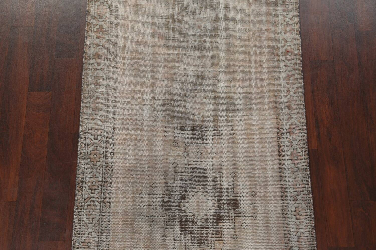 Antique Distressed Balouch Persian Area Rug 4x7 image 4