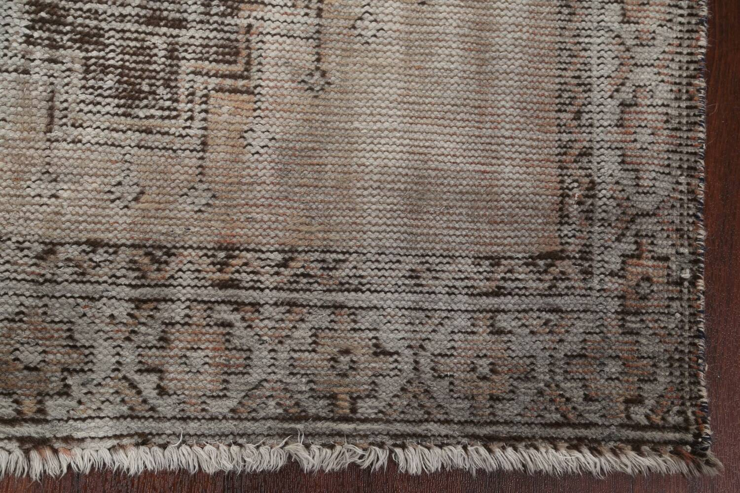 Antique Distressed Balouch Persian Area Rug 4x7 image 7