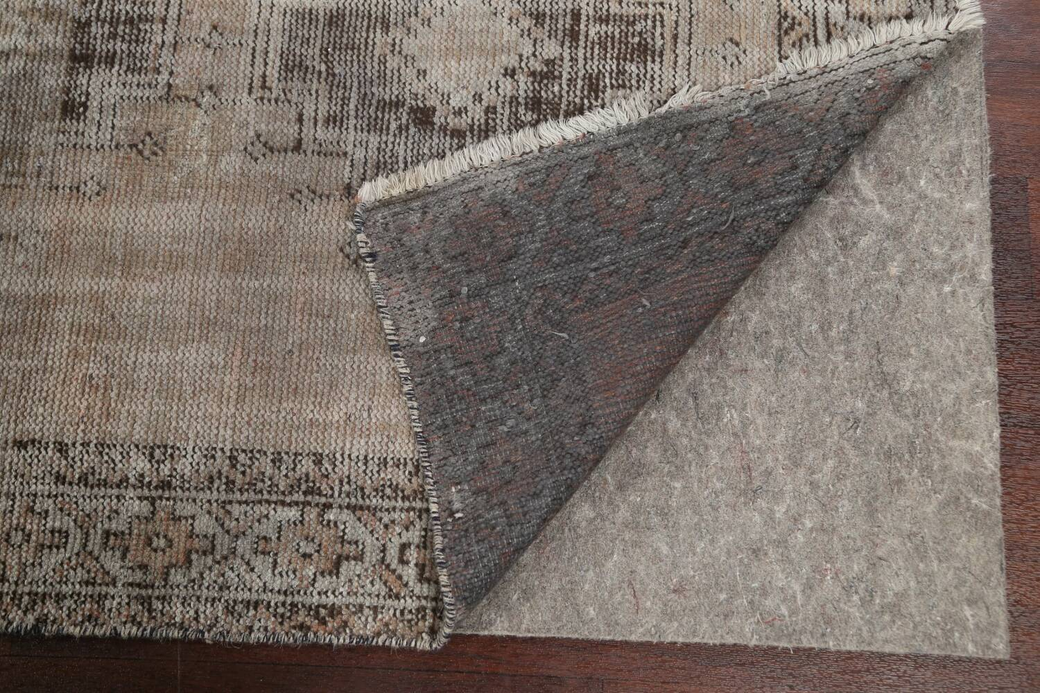 Antique Distressed Balouch Persian Area Rug 4x7 image 8