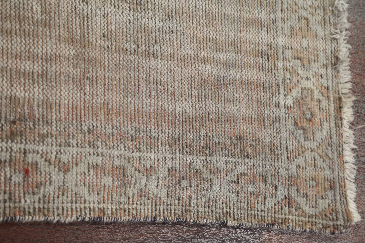 Antique Distressed Balouch Persian Area Rug 4x7 image 11