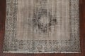 Antique Distressed Balouch Persian Area Rug 4x7 image 6