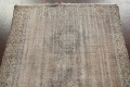 Antique Distressed Balouch Persian Area Rug 4x7 image 10