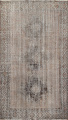 Antique Distressed Balouch Persian Area Rug 4x7 image 1