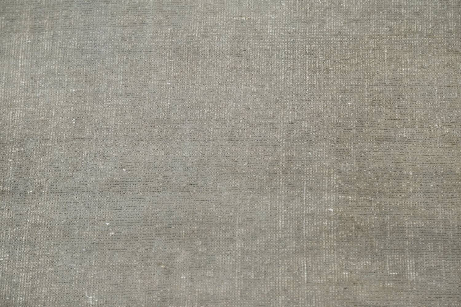 Distressed Over-Dyed Tabriz Persian Runner Rug 2x9 image 9