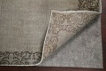Distressed Over-Dyed Tabriz Persian Runner Rug 2x9 image 8