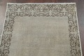 Distressed Over-Dyed Tabriz Persian Runner Rug 2x9 image 10