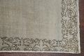 Distressed Over-Dyed Tabriz Persian Runner Rug 2x9 image 11