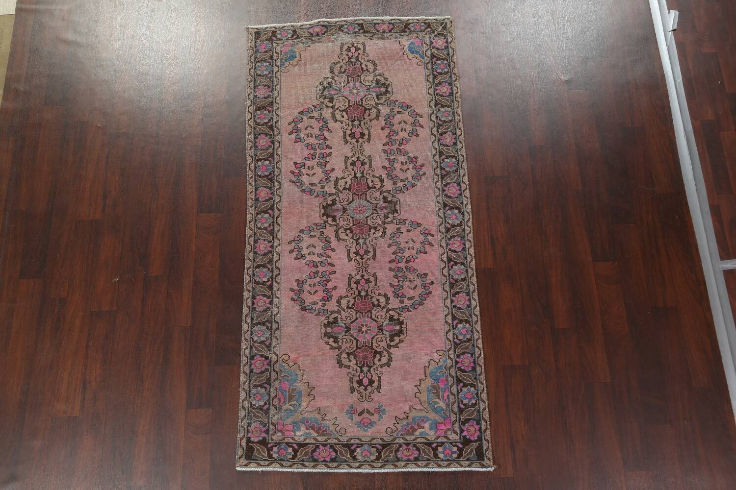 Vintage Balouch Persian Area Rug 4x8 image 3