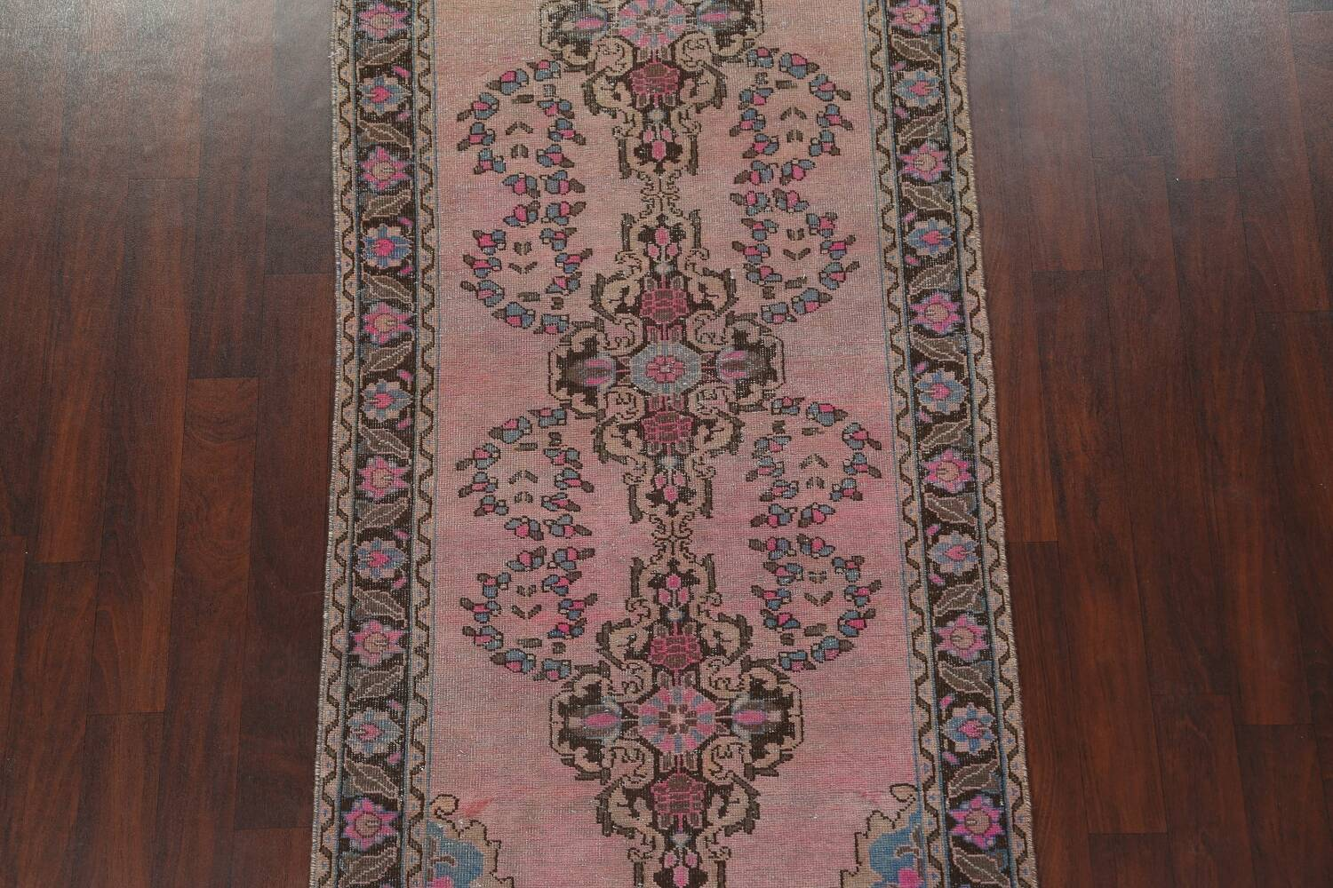 Vintage Balouch Persian Area Rug 4x8 image 4