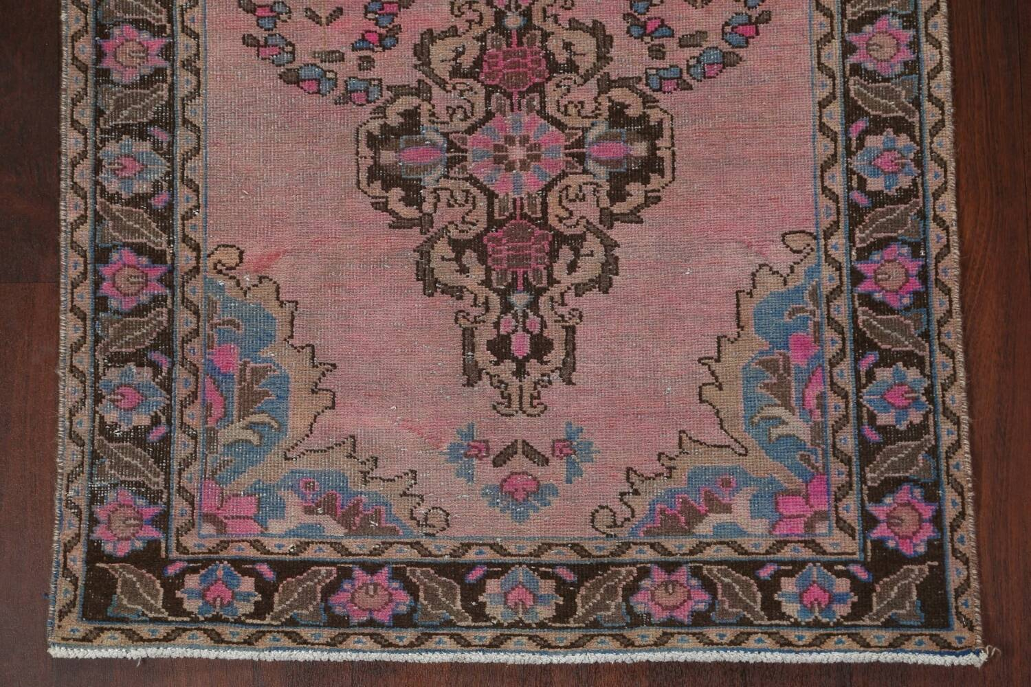 Vintage Balouch Persian Area Rug 4x8 image 6