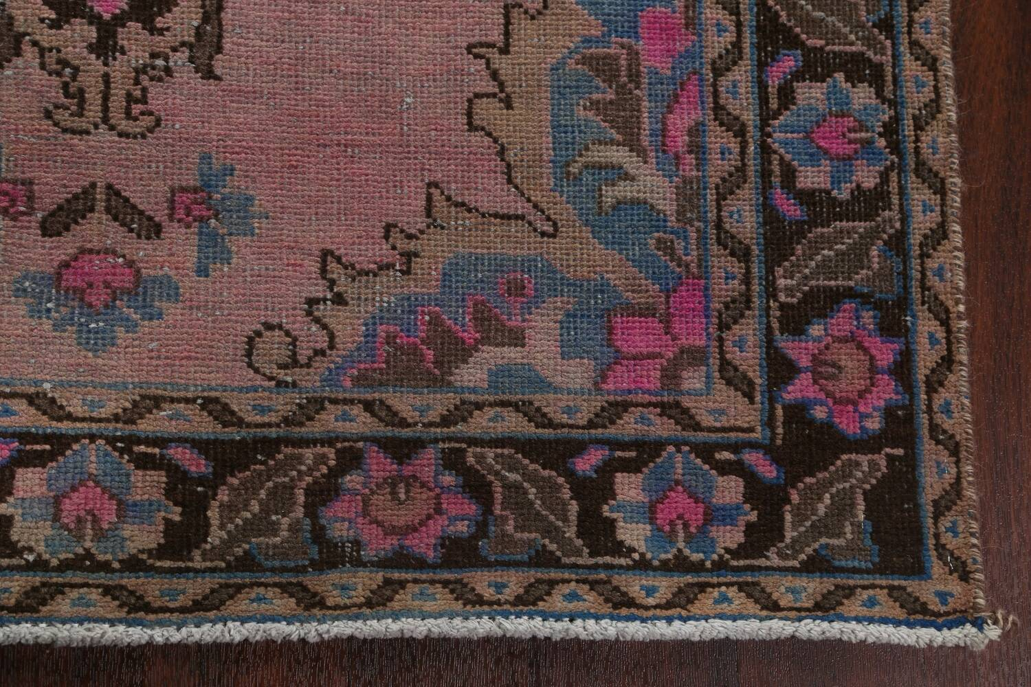 Vintage Balouch Persian Area Rug 4x8 image 7