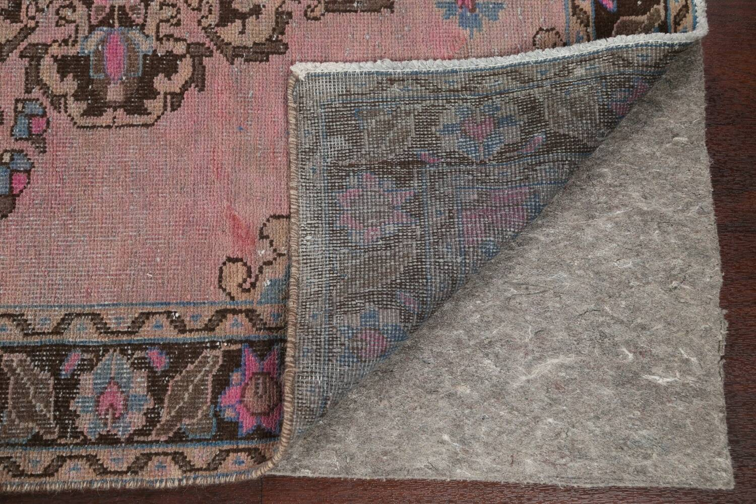 Vintage Balouch Persian Area Rug 4x8 image 8