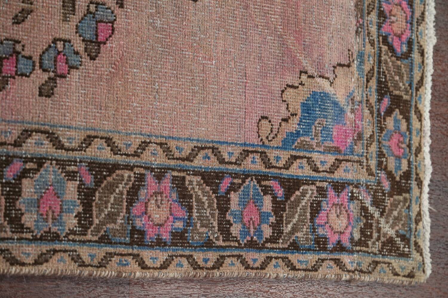 Vintage Balouch Persian Area Rug 4x8 image 11