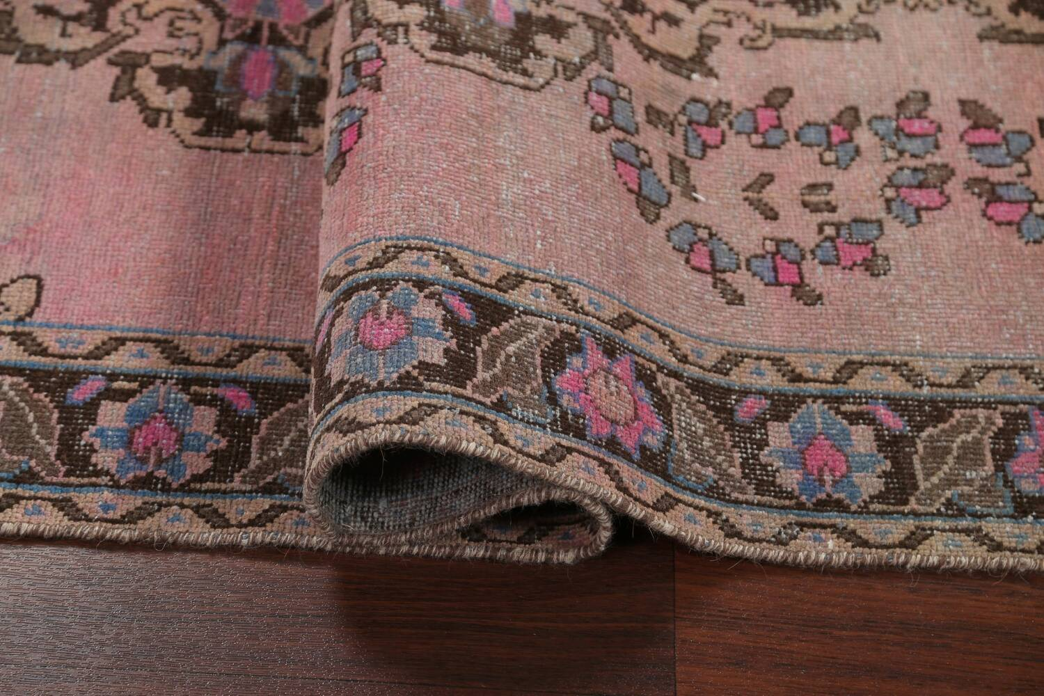 Vintage Balouch Persian Area Rug 4x8 image 12