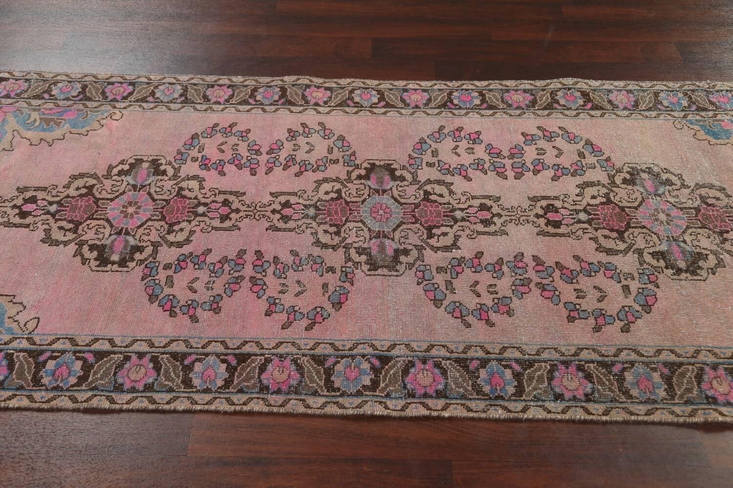 Vintage Balouch Persian Area Rug 4x8 image 13