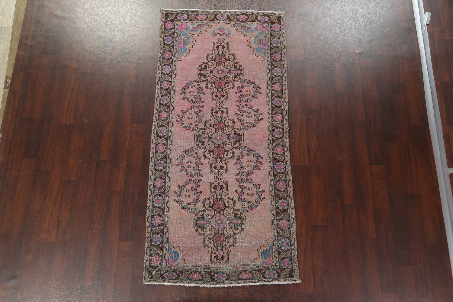 Vintage Balouch Persian Area Rug 4x8 image 14
