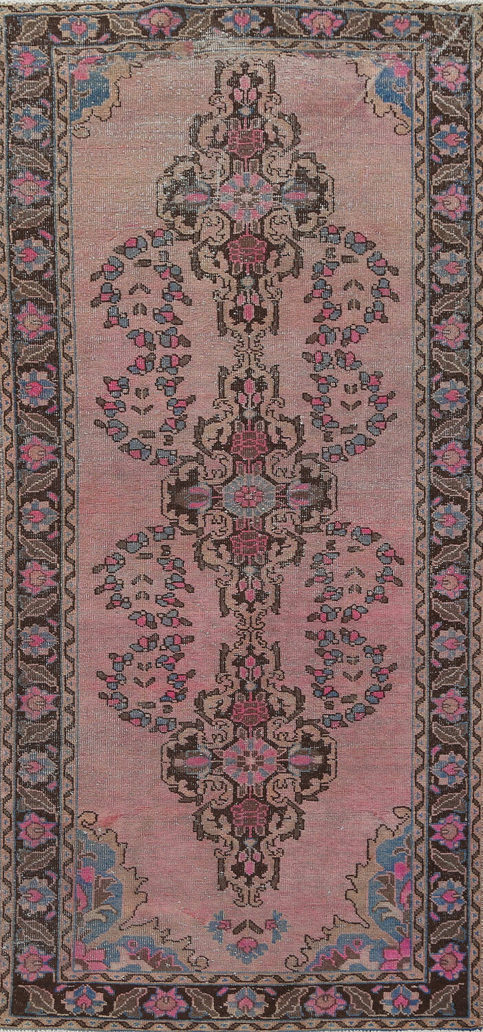 Vintage Balouch Persian Area Rug 4x8 image 1