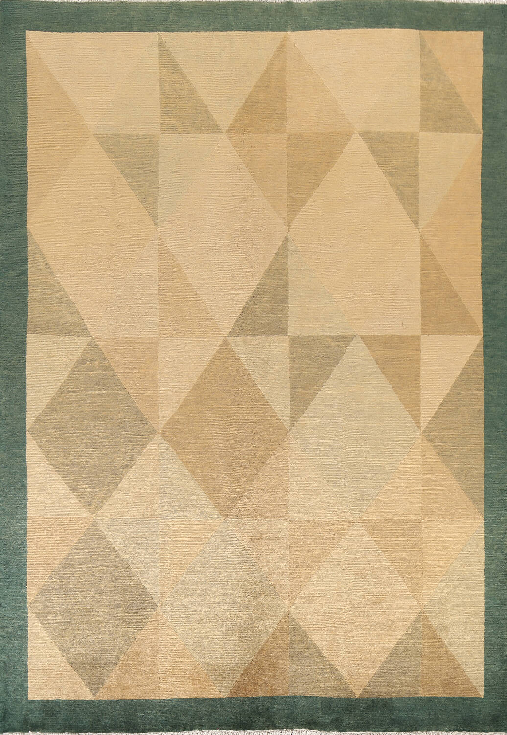 Contemporary Nepalese Wool Area Rug 8x10 image 1