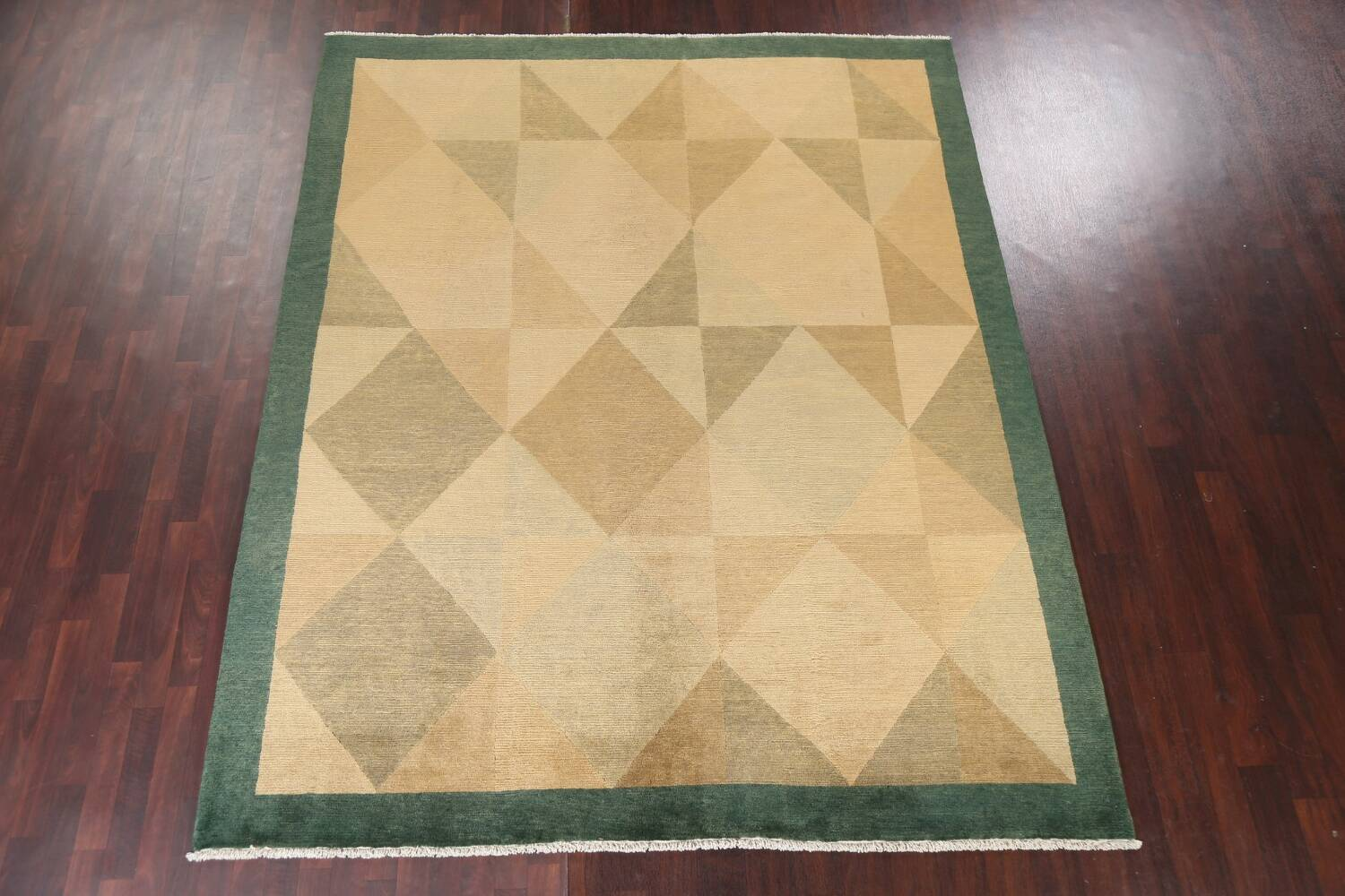 Contemporary Nepalese Wool Area Rug 8x10 image 3