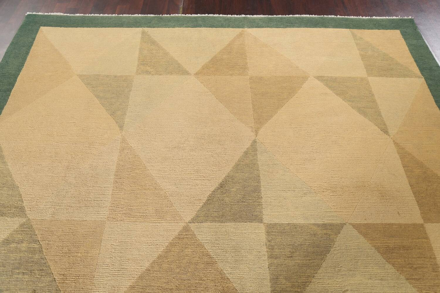 Contemporary Nepalese Wool Area Rug 8x10 image 12