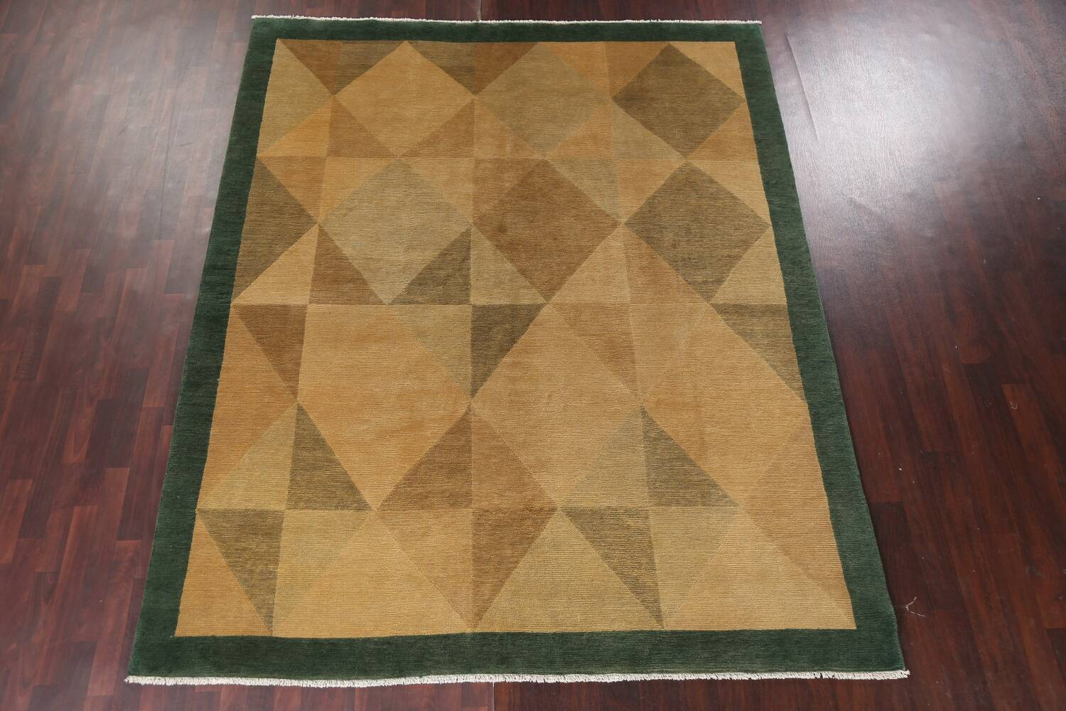 Contemporary Nepalese Wool Area Rug 8x10 image 15