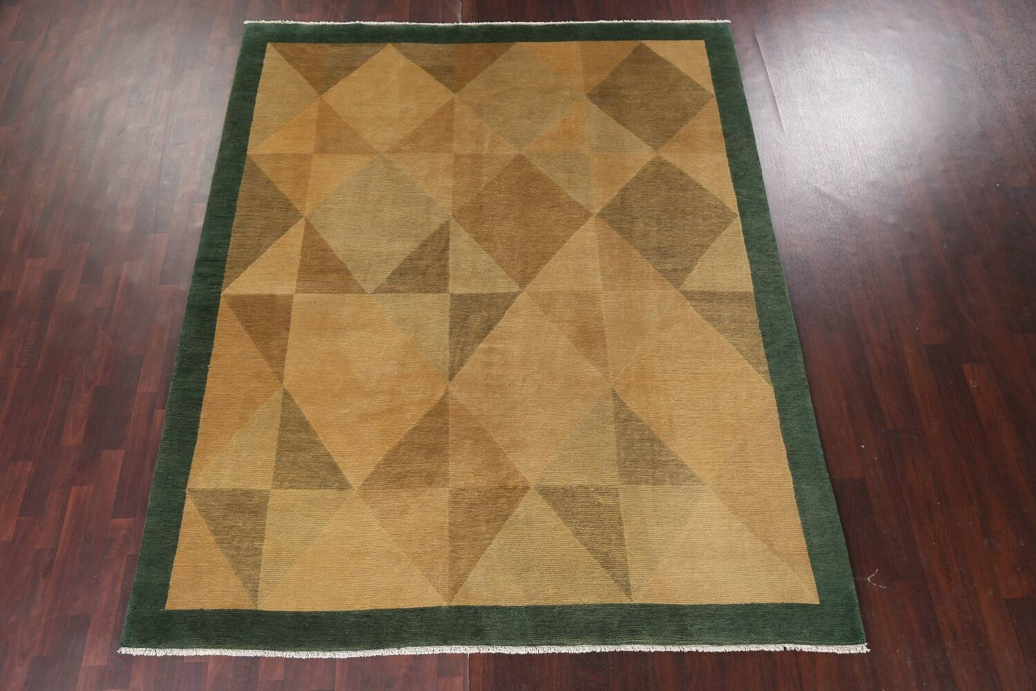 Contemporary Nepalese Wool Area Rug 8x10 image 16