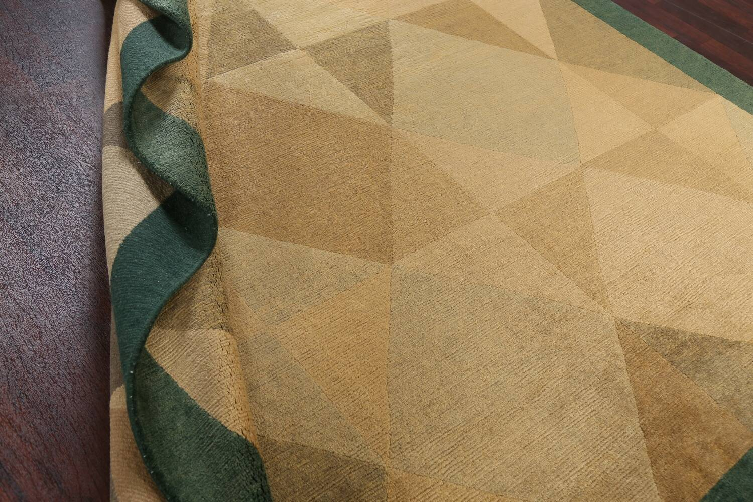 Contemporary Nepalese Wool Area Rug 8x10 image 18