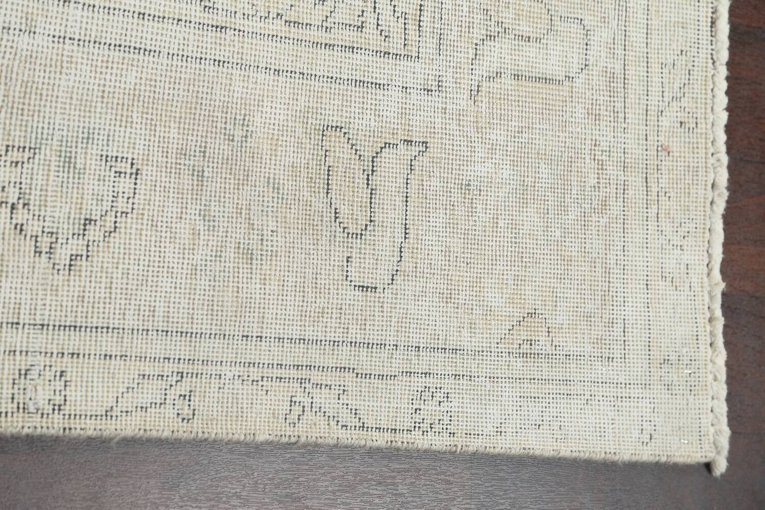 Antique Muted Distressed Tabriz Persian Area Rug 8x11 image 11