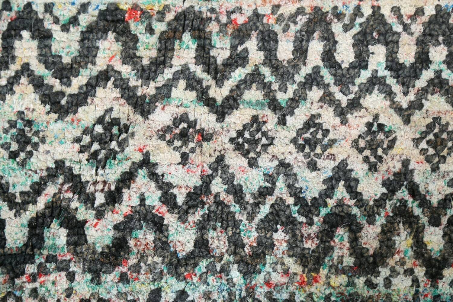 Chevron Style Abstract Oriental Area Rug 6x9 image 9
