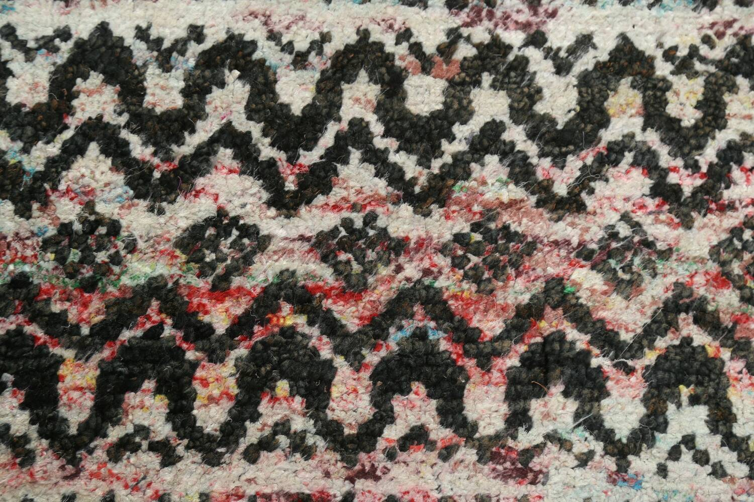 Chevron Style Abstract Oriental Area Rug 6x9 image 10