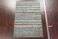 Chevron Style Abstract Oriental Area Rug 6x9 image 3
