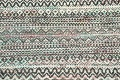 Chevron Style Abstract Oriental Area Rug 6x9 image 5